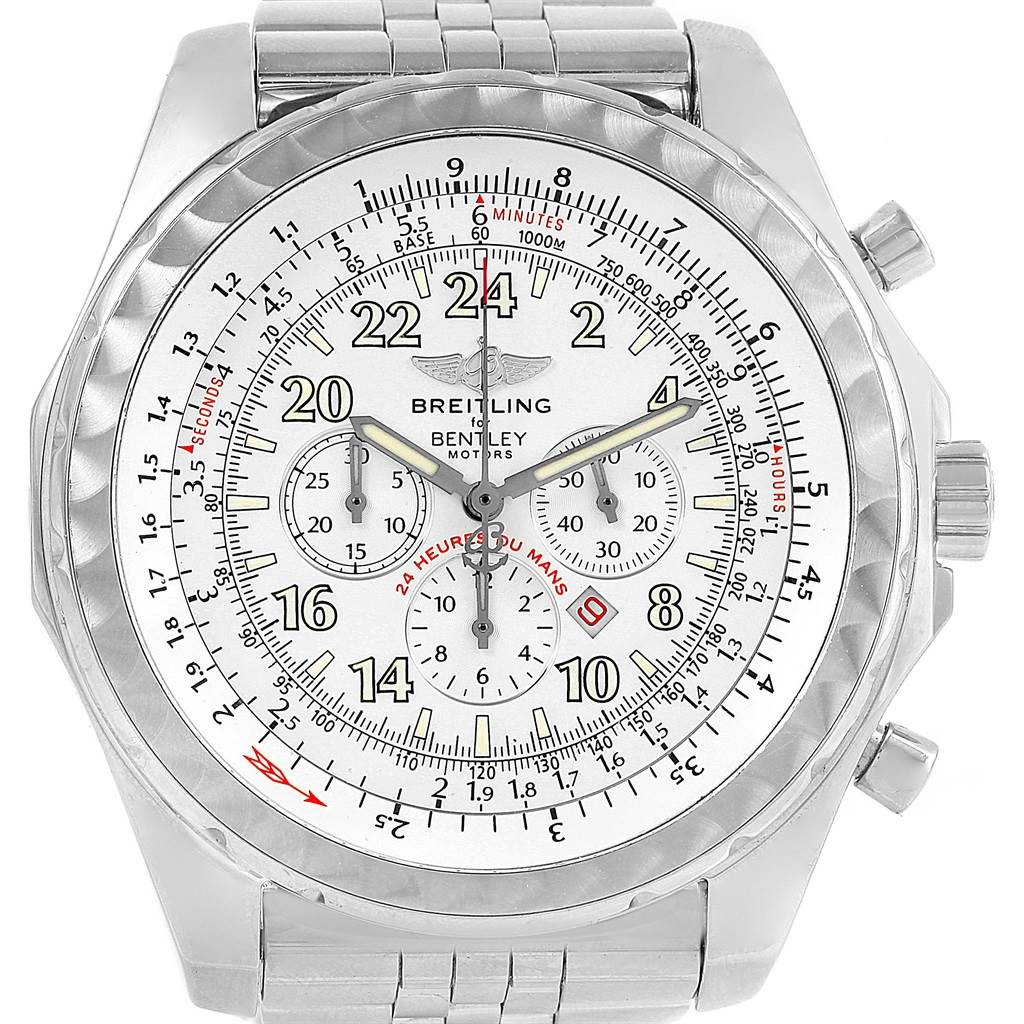 ea2845b204a9 ... 3789X Breitling Bentley Lemans Chronograph Limited Edition Mens Watch  A22362 SwissWatchExpo ...