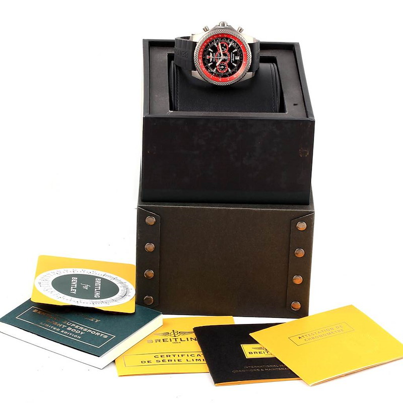 Breitling Bentley Super Sports Limited Edition Watch E27365 Box Papers SwissWatchExpo