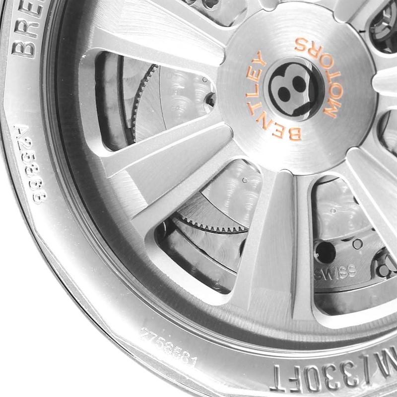 Breitling Bentley Barnato Racing Silver Dial Mens Watch A25368 SwissWatchExpo