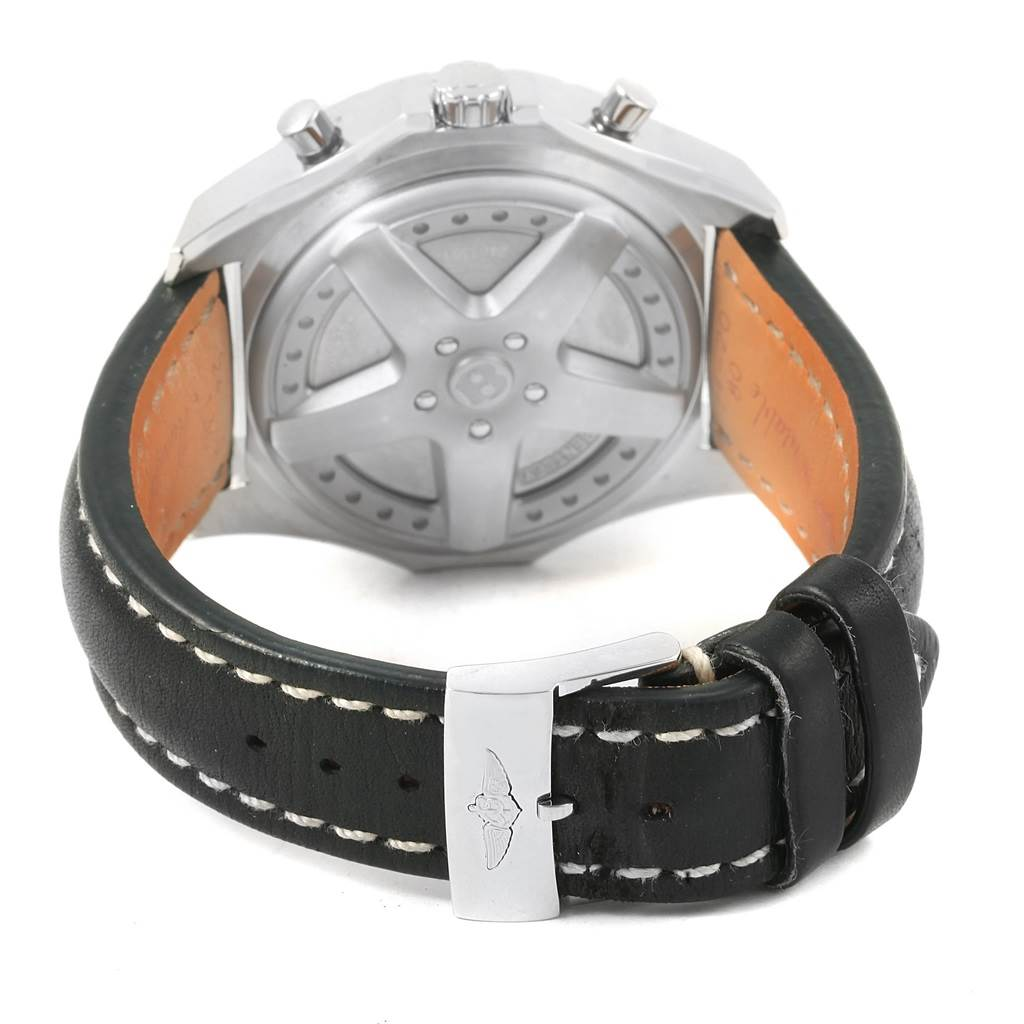 17582 Breitling Bentley 6.75 Speed Chronograph Mens Watch A44364 Box Papers SwissWatchExpo