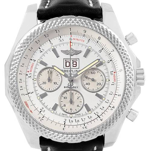 Photo of Breitling Bentley 6.75 Speed Chronograph Mens Watch A44364 Box Papers