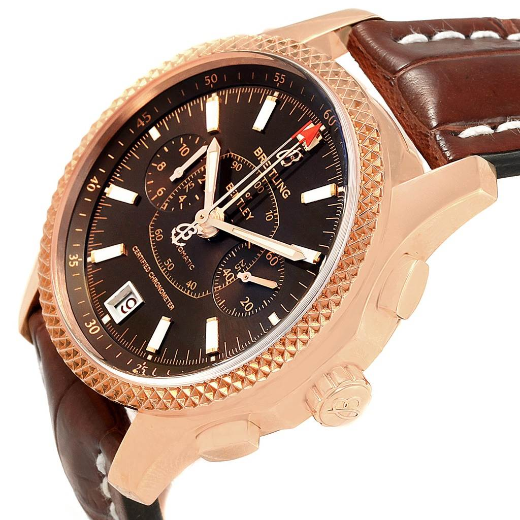 Breitling Bentley Mark VI Rose Gold Special Edition Watch