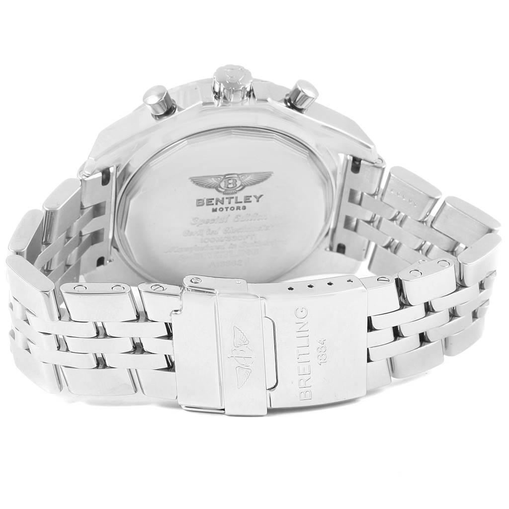 18346 Breitling Bentley Motors GT Blue Dial Mens Watch A13362 Box Papers SwissWatchExpo