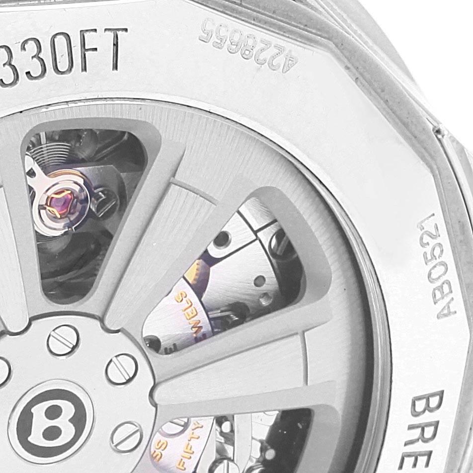 Breitling Bentley GMT B05 Unitime Silver Dial Mens Watch AB0521 Unworn SwissWatchExpo