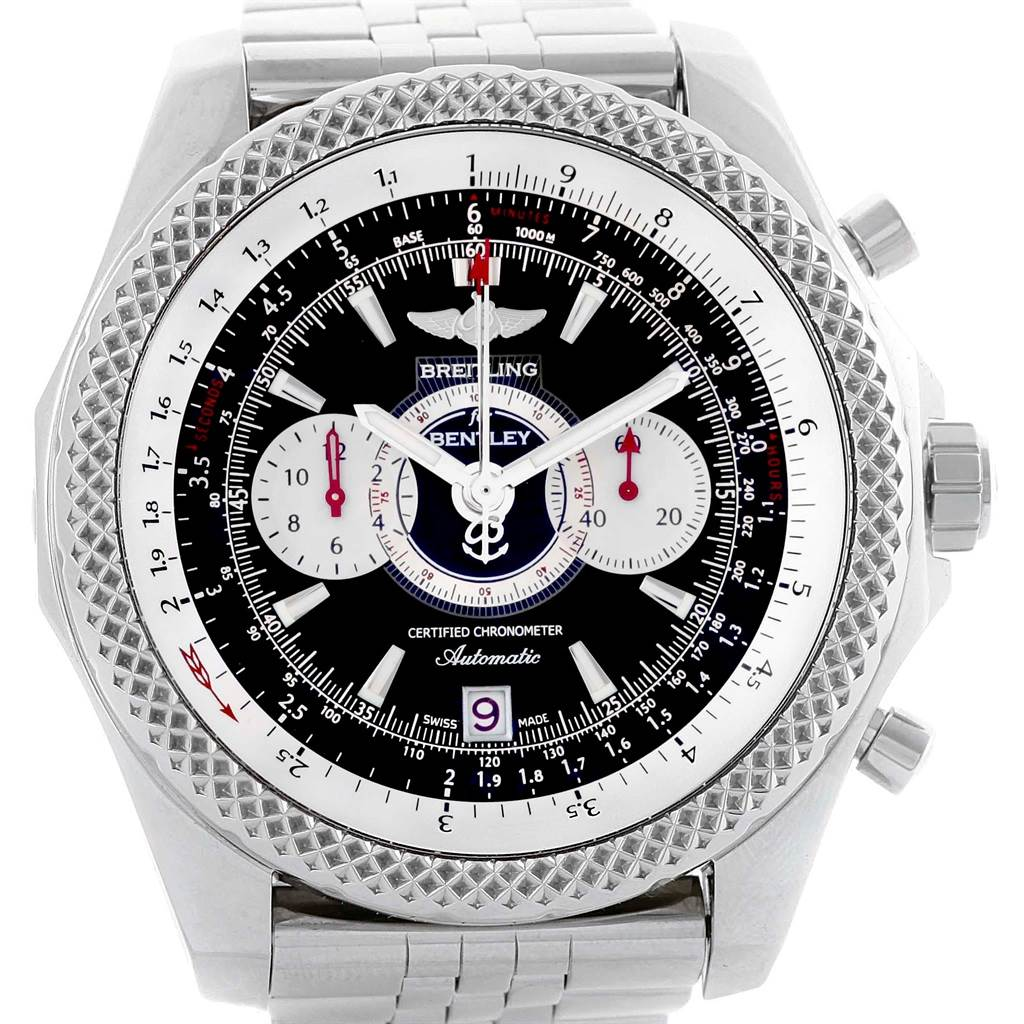Breitling Bentley Supersports Chronograph Limited Edition Watch A26364 SwissWatchExpo