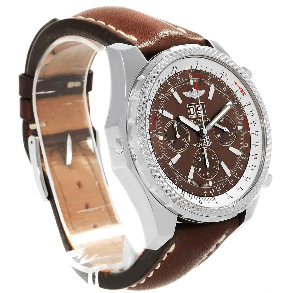 15514 Breitling Bentley Motors Chronograph Bronze Dial Mens Watch A44362 SwissWatchExpo