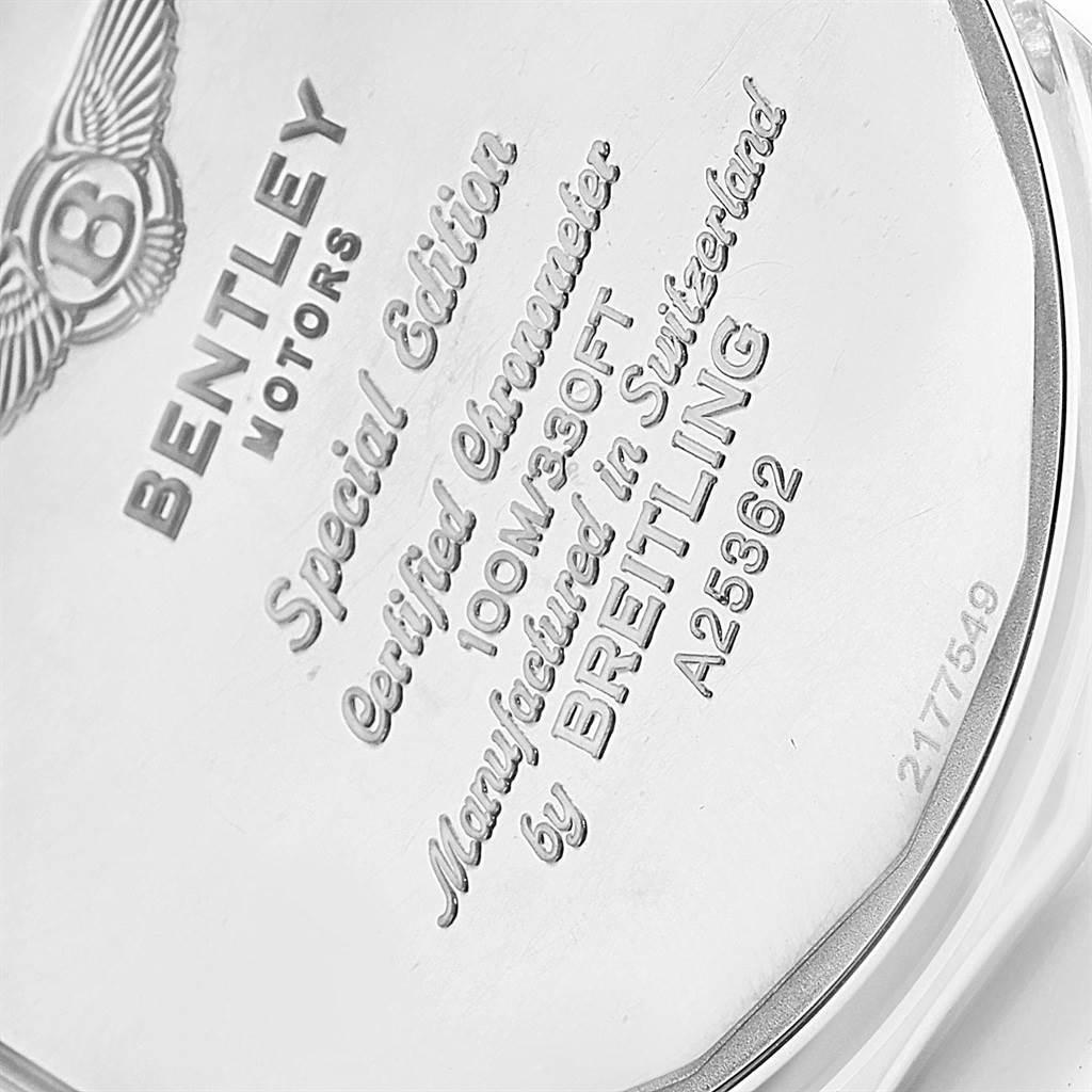 18881 Breitling Bentley Motors Bronze Dial Chronograph Mens Watch A25362 SwissWatchExpo