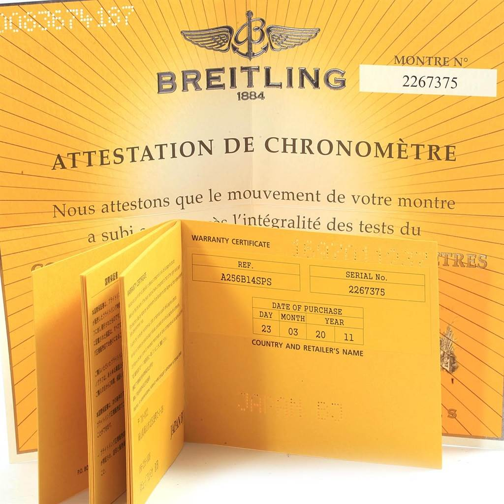 19246 Breitling Bentley Motors T Grey Dial Chronograph Watch A25363 Box Papers SwissWatchExpo