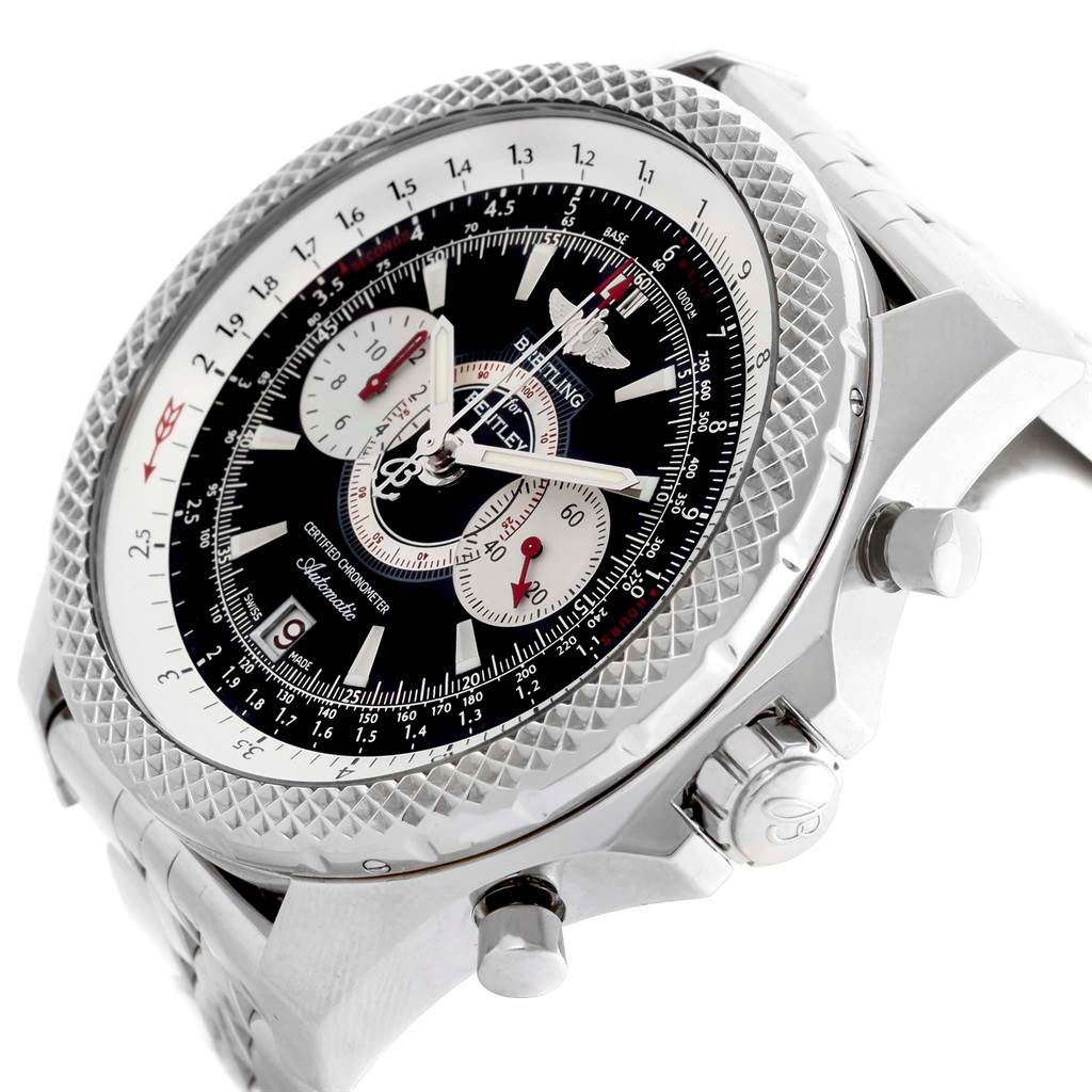19350 Breitling Bentley Supersports Chronograph Limited Edition Watch A26364 SwissWatchExpo