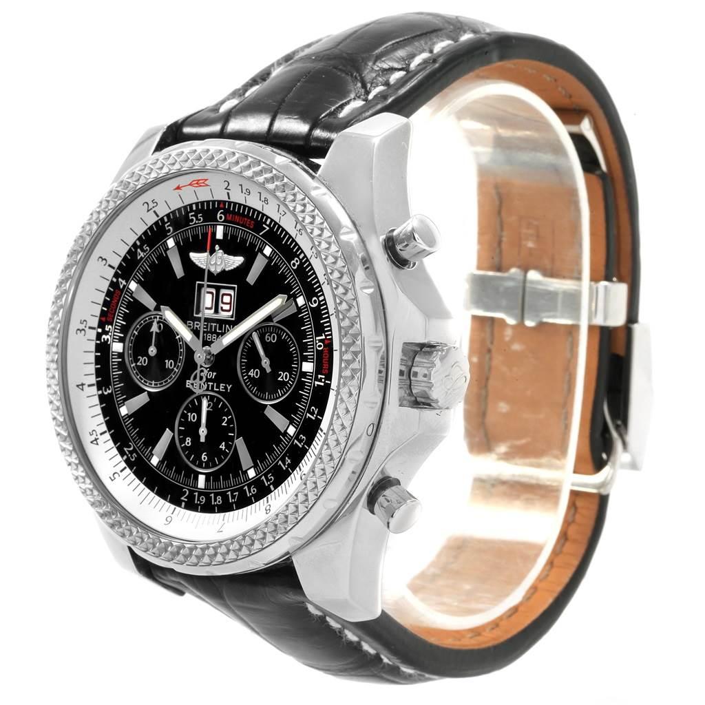 19823 Breitling Bentley Motors Diamond LE Chronograph Mens Watch A44362 SwissWatchExpo