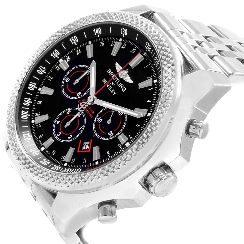 19917 Breitling Bentley Barnato Racing Black Dial Mens Watch A25368  SwissWatchExpo