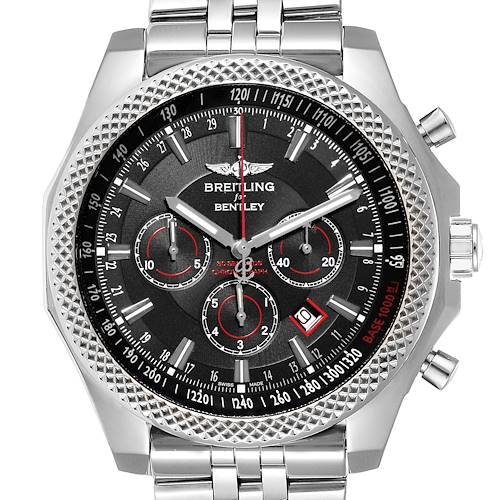 Photo of Breitling Bentley Barnato Racing Black Dial Mens Watch A25368