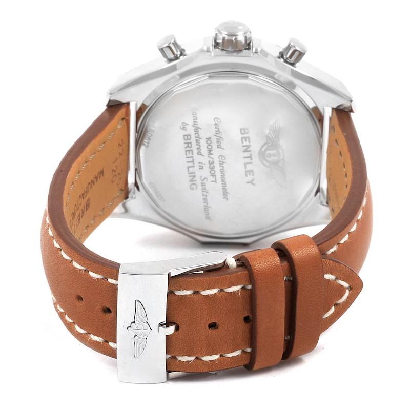 Breitling Bentley B06 Silver Dial Chronograph Watch AB0612 Unworn SwissWatchExpo