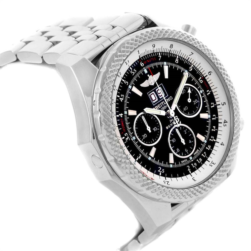 Breitling Bentley 6.75 Speed Chronograph Mens Watch A44364 Box Papers SwissWatchExpo
