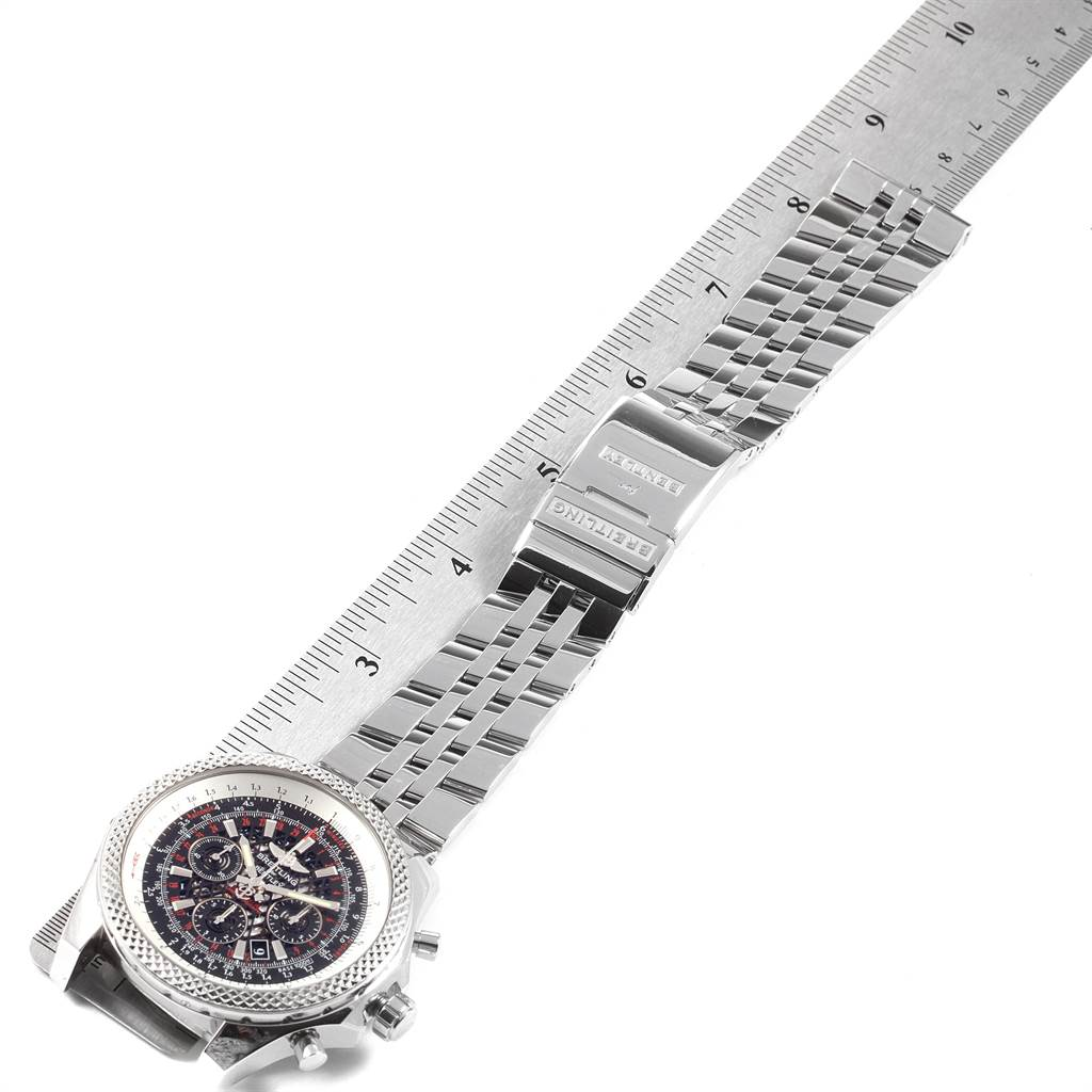 21997 Breitling Bentley B06 Black Dial Chronograph Watch AB0611 Box Papers SwissWatchExpo