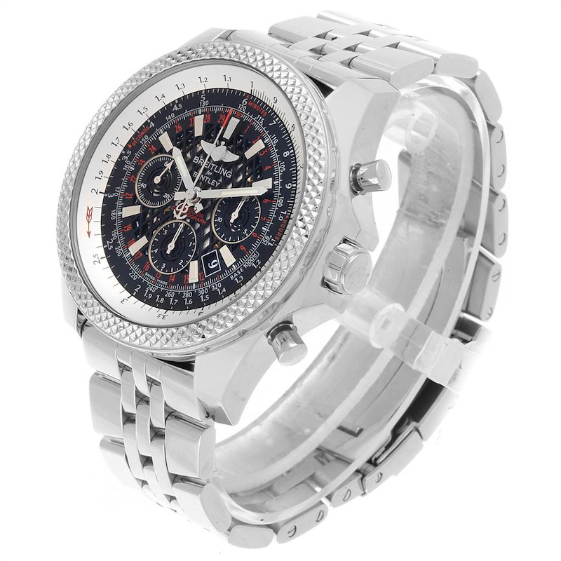 Breitling Bentley B06 Black Dial Chronograph Watch AB0611 Box Papers SwissWatchExpo