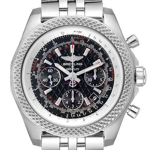 Photo of Breitling Bentley B06 Black Dial Chronograph Watch AB0612 Box Papers