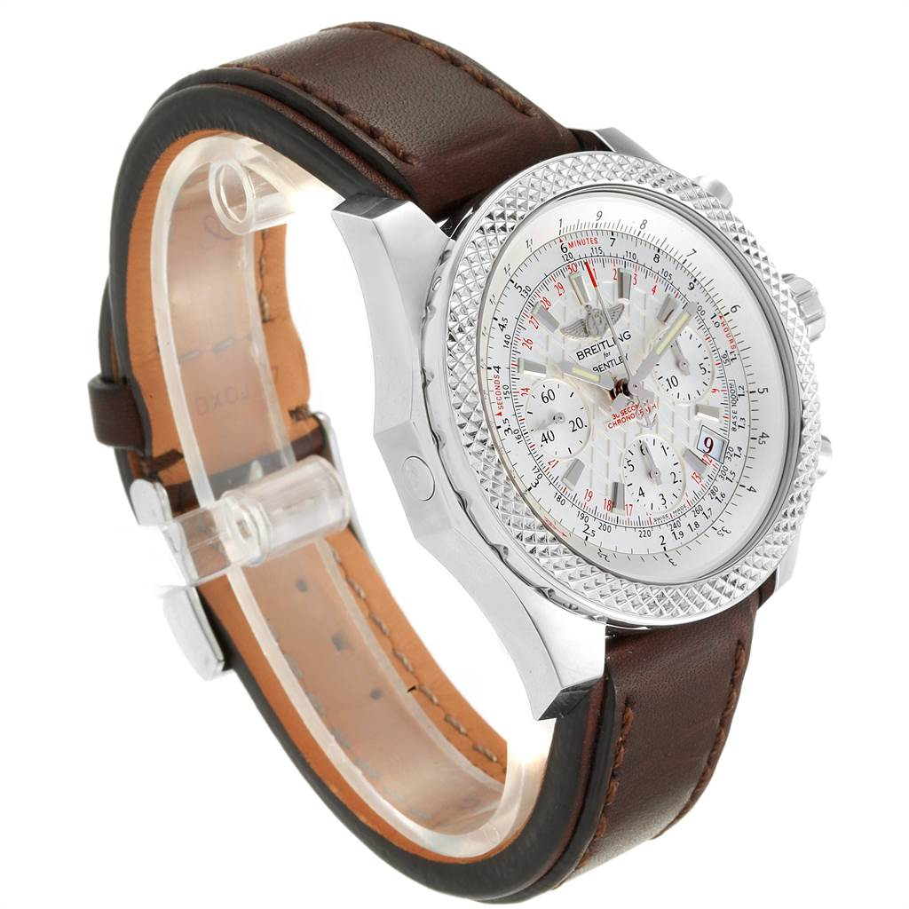 Breitling Bentley B05 Unitime Silver Dial Mens Watch AB0612 Box Papers SwissWatchExpo