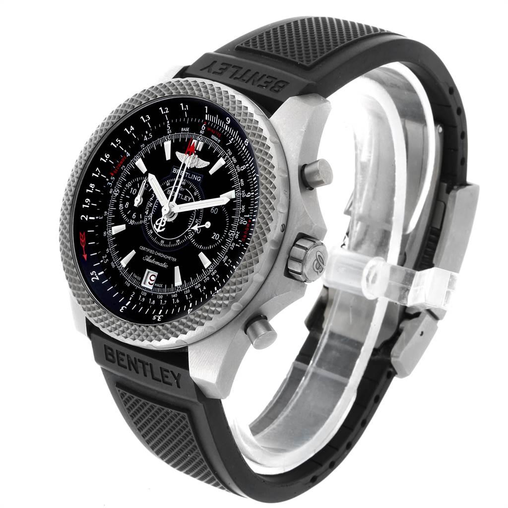 22602 Breitling Bentley Super Sports Rubber Strap Mens Watch E27365 Box SwissWatchExpo