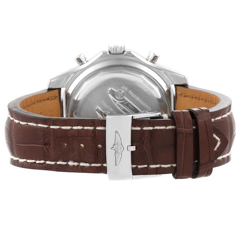 Breitling Bentley Motors T Chrono Bronze Dial Steel Mens Watch A25363 SwissWatchExpo