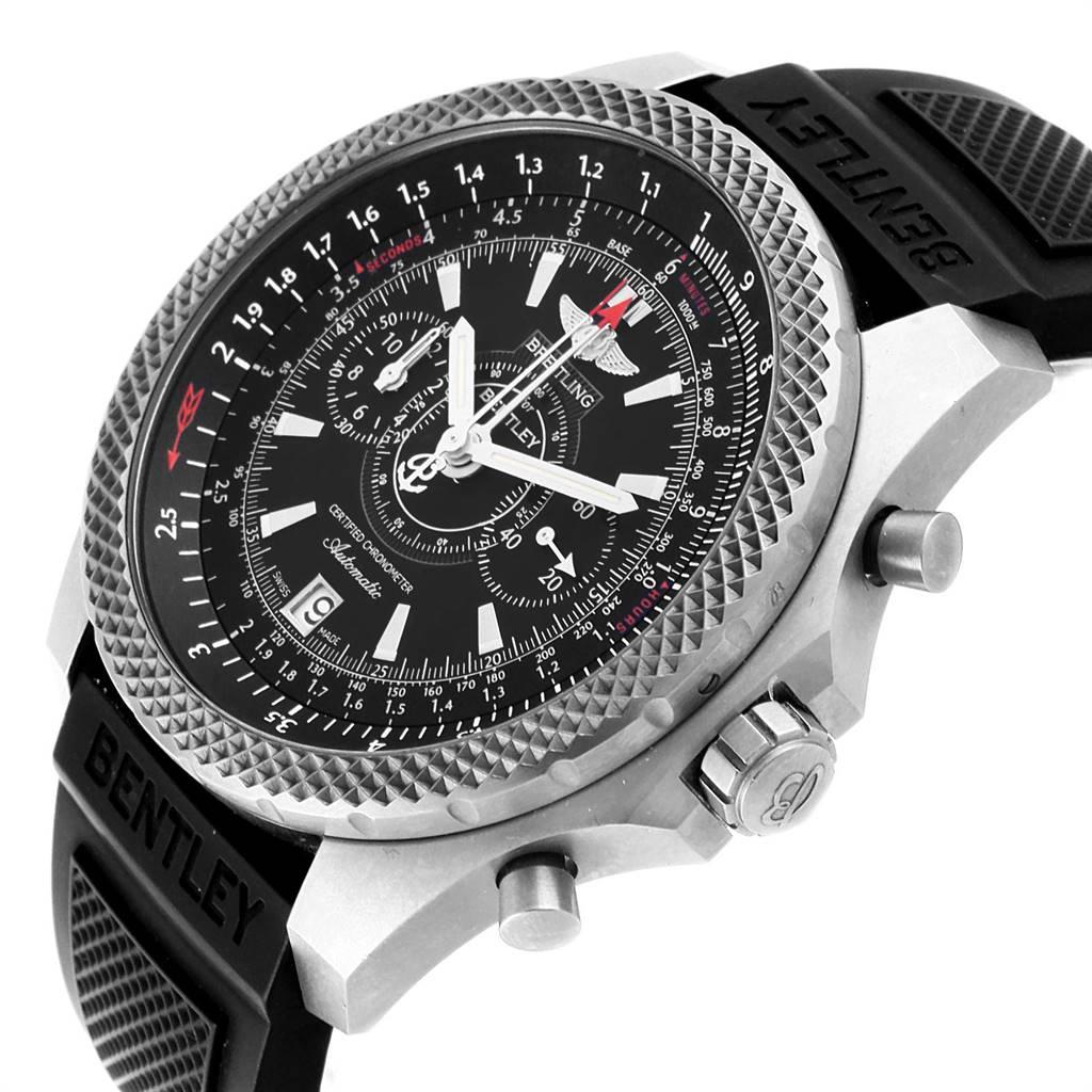 Breitling Bentley Super Sports Rubber Strap Mens Watch E27365 Box SwissWatchExpo