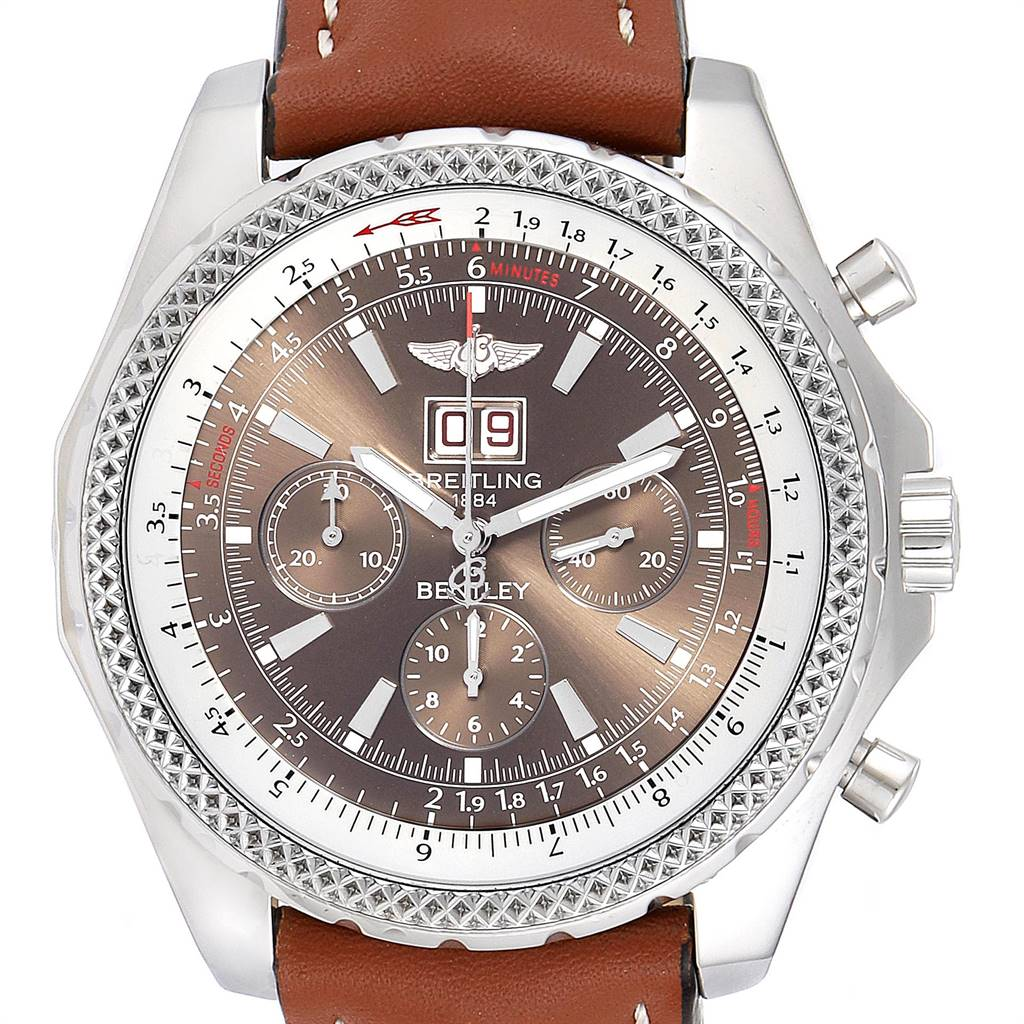 Photo of Breitling Bentley Motors Chronograph Bronze Dial Mens Watch A44362