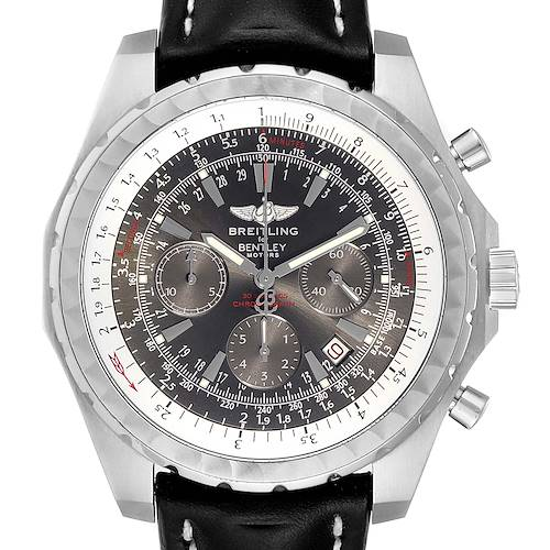 Photo of Breitling Bentley Grey Dial Chronograph Steel Mens Watch A25362