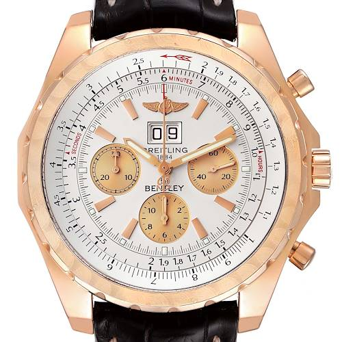 Photo of Breitling Bentley 6.75 Rose Gold Limited Edition Mens Watch H44363