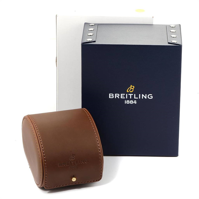 Breitling Bentley 6.75 Rose Gold Limited Edition Mens Watch H44363 SwissWatchExpo