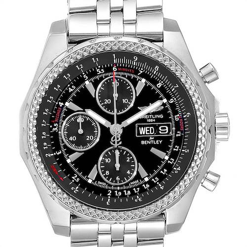 Photo of Breitling Bentley Motors GT Special Edition Mens Watch A13362 Box Card