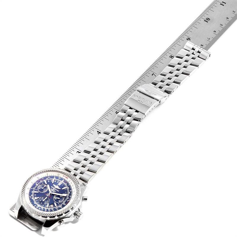 Breitling Bentley Motors Blue Dial Chronograph Watch A25362 Box SwissWatchExpo