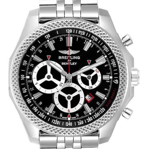 Photo of Breitling Bentley Barnato Racing Black Dial Mens Watch A25366