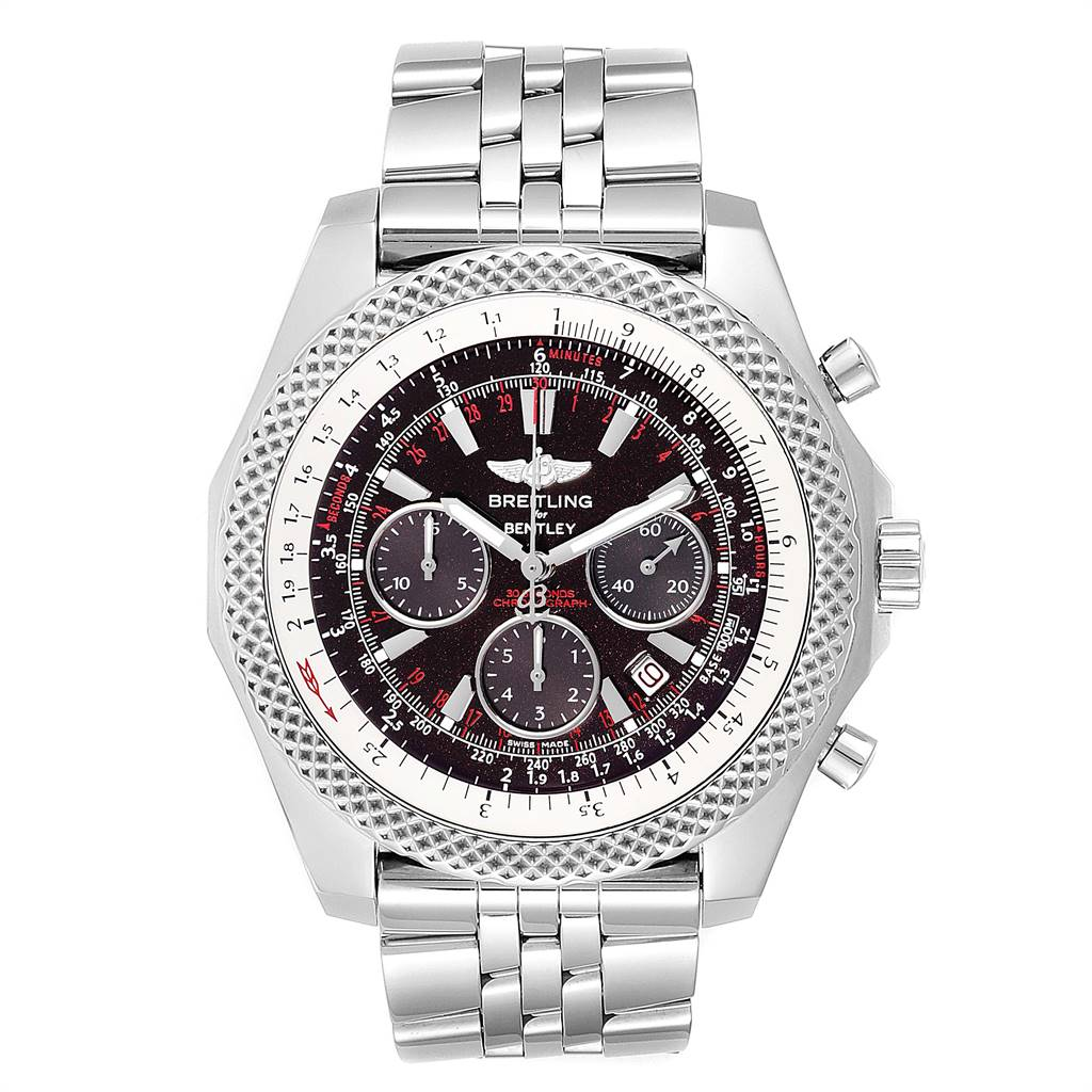 Breitling Bentley Motors Special Edition Chronograph Mens Watch A25364 SwissWatchExpo