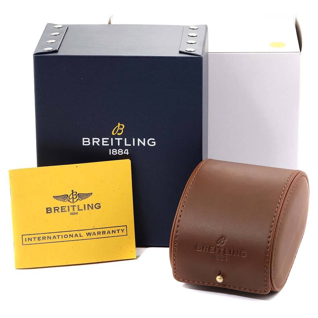Breitling Bentley Motors Bronze Dial Chronograph Watch A44362 Box Papers SwissWatchExpo