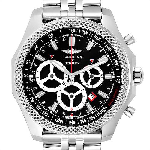 Photo of Breitling Bentley Barnato Racing Black Dial Mens Watch A25366 Box Papers