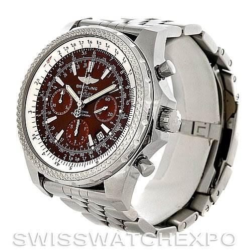 Breitling Bentley Motors A2536212/Q502 Bronze Dial Watch SwissWatchExpo