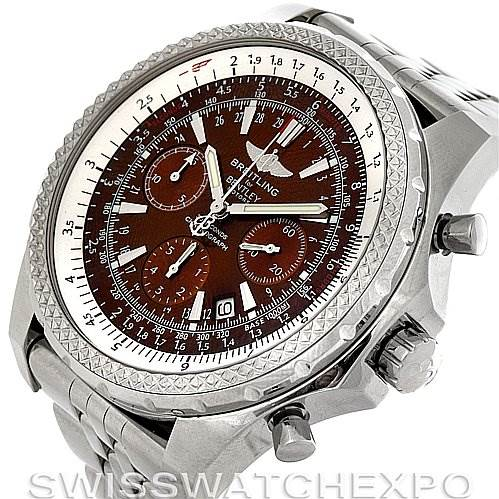 3028 Breitling Bentley Motors A2536212/Q502 Bronze Dial Watch SwissWatchExpo