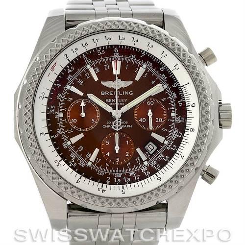 Photo of Breitling Bentley Motors A2536212/Q502 Bronze Dial Watch