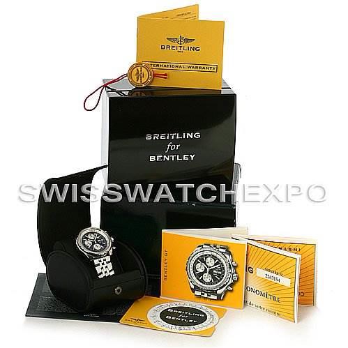 Breitling Bentley Motors GT A1336212/B724 Black Dial SwissWatchExpo