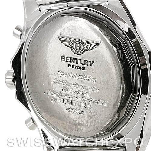 4232 Breitling Bentley Motors Chronograph Mens Watch A25362 SwissWatchExpo