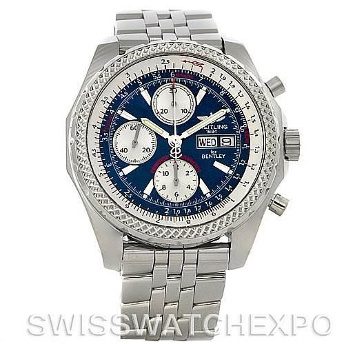 Breitling Bentley Motors GT Blue Dial Watch A1336212/c649 SwissWatchExpo