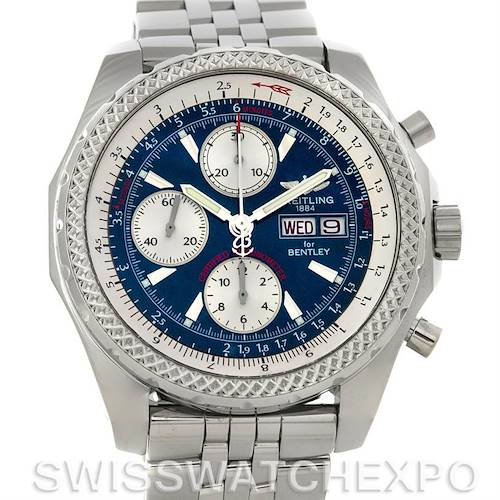 Photo of Breitling Bentley Motors GT Blue Dial Watch A1336212/c649