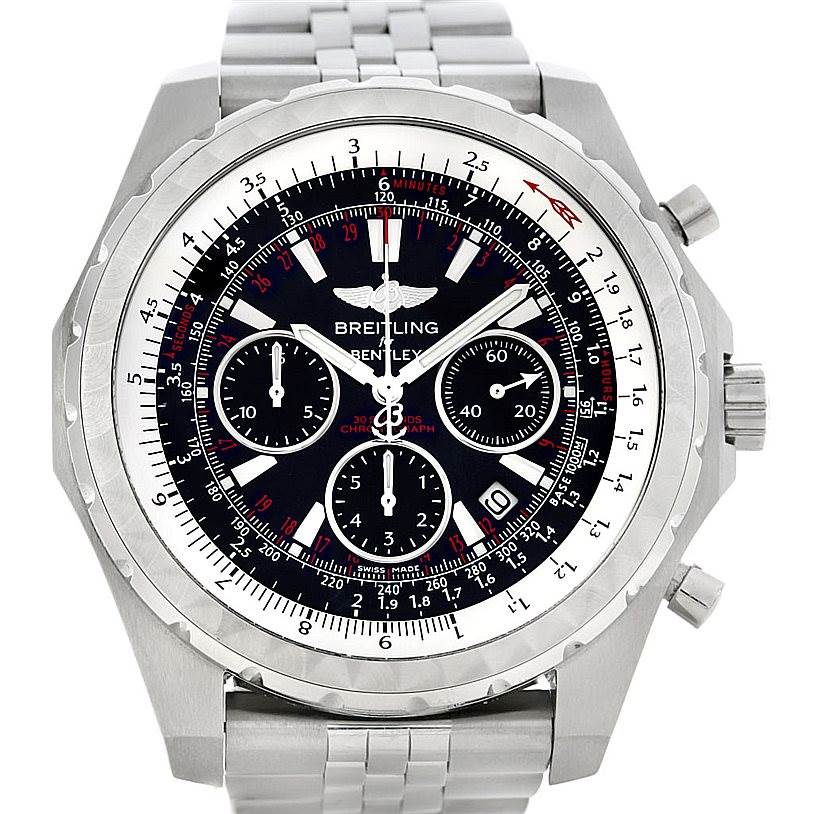 Breitling bentley motors t a25363 watch for Breitling watches bentley motors special edition a25362