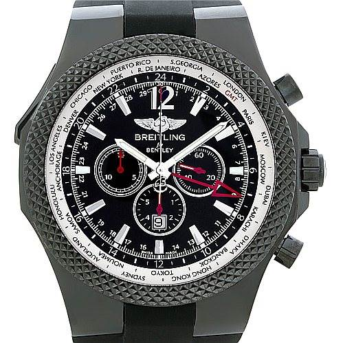 5276 Breitling Bentley GMT Midnight Carbon Watch M47362 LE 149/150 SwissWatchExpo