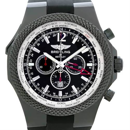 Photo of Breitling Bentley GMT Midnight Carbon Watch M47362 LE 149/150