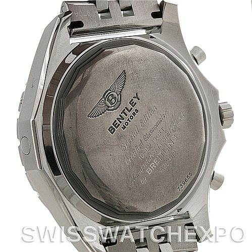 4465 Breitling Bentley Motors Chronograph Mens Watch A25362 SwissWatchExpo
