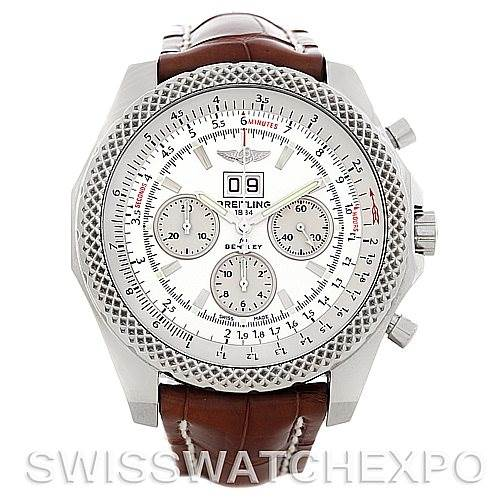 5385 Breitling for Bentley Speed Steel Watch A44364 SwissWatchExpo