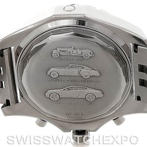Breitling Bentley Motors T A25363 Men's Steel Watch SwissWatchExpo