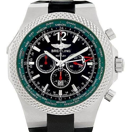 Breitling Bentley WorldTimer Chronograph GMT LE Watch A47362 SwissWatchExpo
