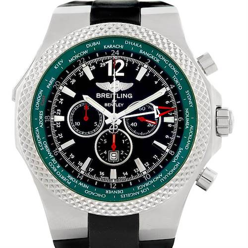 Photo of Breitling Bentley WorldTimer Chronograph GMT LE Watch A47362
